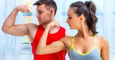 muscle building couple workout