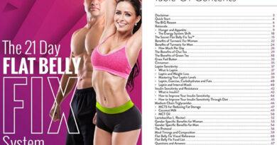 flat belly fix book program