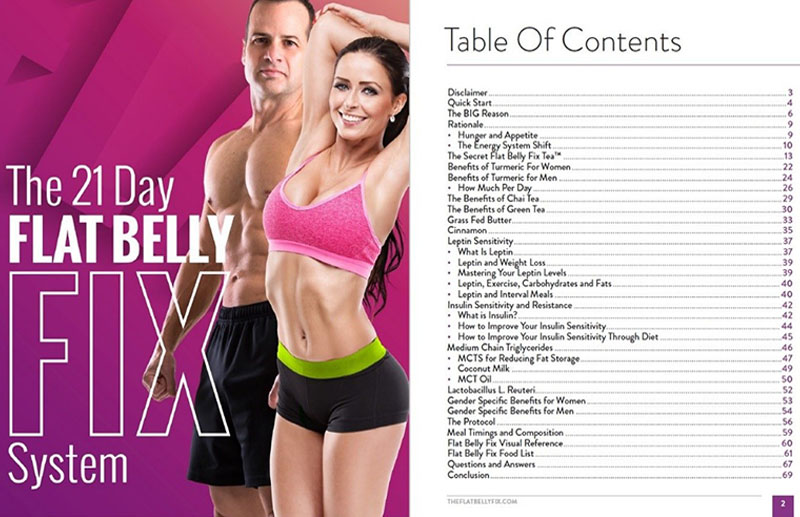 The Flat Belly Fix Program that will make you feel smart - Review