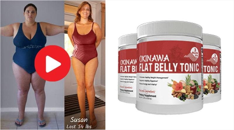 Okinawa Flat belly tonic result women